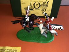 Napoleonic Waterlooo CQ4 Mulberry Miniatures Soldiers Mounted   54MM Boxed