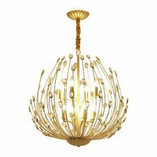 LED Crystal Ceiling Lamp Dining Room Chandelier Bedroom Pendant Lights Fixtures