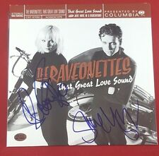 """The Raveonettes"" Group Signed Album PAAS/COA Indie Alternative Punk Rock Auto"