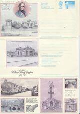 Gb Stamps Aerogram / Air Letter Aps82 - 1st Nvi William Henry Playfair 1989
