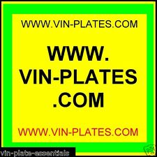 VIN-PLATES.COM + TRAILERS .ORG.UK NOW SOLD!