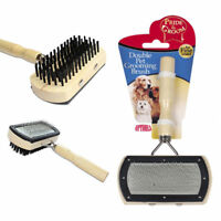 SHORT & LONG HAIR PET GROOMING BRUSH Dog Cat Puppy Kitten Fur Shedding Tool