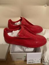 Maison Margiela - EU 45 UK 11 - Replica Gat Red low Top Leather trainers