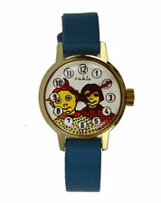Vintage NOS  Ruhla Moving Eyes Comic Character Wristwatch,DDR ca. 1963