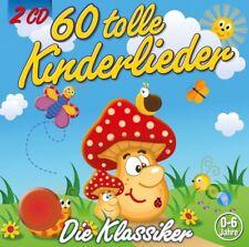 KIDDY CLUB - 60 TOLLE KINDERLIEDER   2 CD NEU