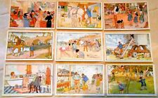 9 Bells Vintage French Picture Cards language learning set