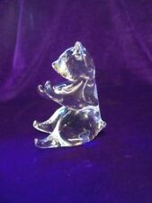 Figurine Crystal Scandinavian Art Glass