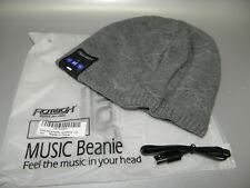 New listing Rotibox Bluetooth Music Beanie Hat Wireless Headphone For Outdoor Gray New