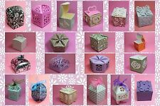 Brother ScanNCut Party favour box templates CD1014