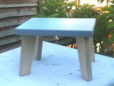 Handmade Birch Grey Children StepStool, Kids Stool,Chair (Sturdy)Boys&Girls