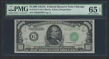 1934A $1000 One Thousand Dollar Bill Currency Cash Note Money PMG GEM 65 EPQ