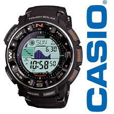 Casio Herren PRW-2500R-1CR Pro Trek Tough Solar Digital Sport Watch Armbanduhren
