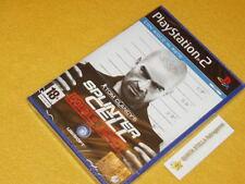 TOM CLANCY'S SPLINTER CELL  PS2 ITA NUOVO Playstation 2