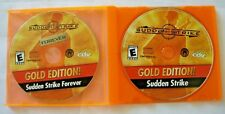 SUDDEN STRIKE GOLD EDITION & SUDDEN STRIKE FOREVER - PC GAME - Discs Only!!!