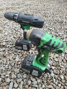 Hitachi 18v impact driver And Drill