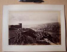 Whitby     . Victorian Photograph mounted on album card