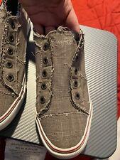 Malibu Blowfish Play  Women's Steel Grey Fashion Sneaker US 11