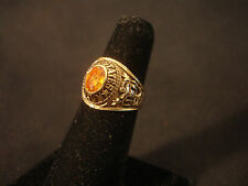 Collectible USN United States Navy Military Brass Ring Jewelry Size 7