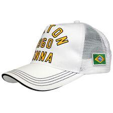 Ayrton Senna Cap 1960 weiß