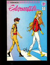 ELEMENTALS 9(9.2)(NM-)AUTO/ BILL WILLINGHAM W/COA-COMICO