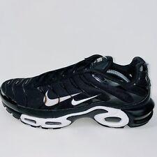 Nike Air Max Plus TN Premium Men's US Size 12 Black White 815994-004