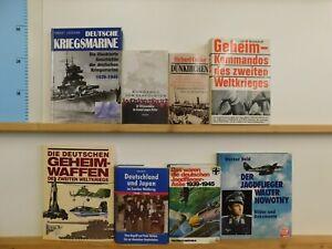23 Bücher Bildbände Dokumentation 2. WK 3. Reich NSDAP Nationalsozialismus