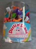 72x Mini Darlin Dinos Figur - Dinosaurier Mädchen - Lil Dinos - Meritus 1992