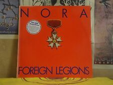 NORA, FOREIGN LEGIONS - LP NYM-5 PROMO ELECTRONIC FUNK SOUL