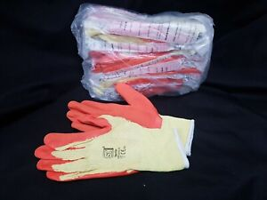 NEW PACK OF 12 **ST ** LARGE SIZE 9 YARD GLOVES BUILDER GARDENER MUCKING OUT