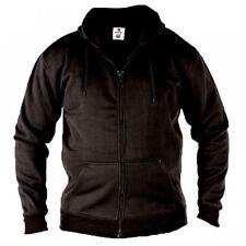 Sudadera con capucha de hombre negro