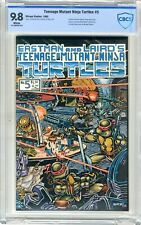 Teenage Mutant Ninja Turtle  #5  CBCS  9.8  NMMT  White pgs  1985 Fugitoid cross