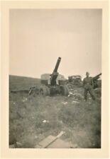 Deutsche Wehrmacht WW2 Photo Technik Geschütz Kanone Polen Polska