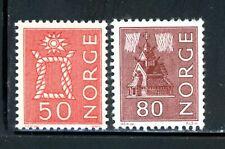 Norway Scott # 424 - MNH, 428 - MH - CV=$13.75