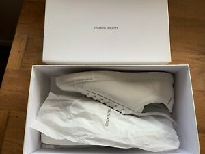 Common Projects Retro low Boxed leather WHITE 42 NEW IN BOX