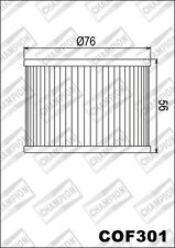 COF301 Filtro De Aceite CHAMPION HondaGL1200 I Oro Wing Interstate12001986 87