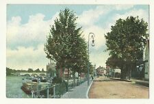 Kingston - a colour printed postcard of High Street and River