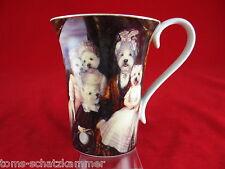 Goebel Aristo Dogs Porzellan Sammel-Tasse Les enfants de la Comtesse Poncelet