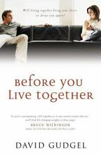 BEFORE YOU LIVE TOGETHER David Gudgel 2003 Paperback Christian Relationships NEW