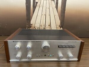 Vintage Kenwood KA-6000 Stereo Integrated Amplifier works