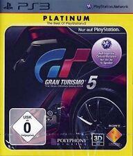 Playstation 3 GRAN TURISMO 5 GT5 Platinum Sehr guter Zustand
