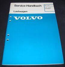 Werkstatthandbuch Volvo LKW Lastwagen Räder / Reifen / Naben Stand 12/1989!