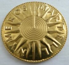 NEW Oberyn Martell Golden Half-Dragon Coin Game of Thrones Brass Shire Post USA