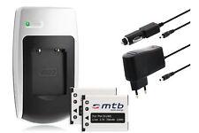 Chargeur+2x Batterie NP-45 NP45 pour Fuji Fujifilm FinePix J210, J250, JV100, JV