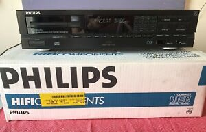 Philips CD630 compact disc player with manual
