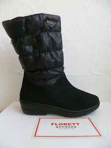 Florett Ladies Ankle Boots Winter Boots Tex Black