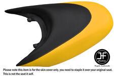 BLACK & YELLOW CUSTOM FOR SEADOO 02-06 GTX DI 4-TEC REAR VINYL SEAT COVER