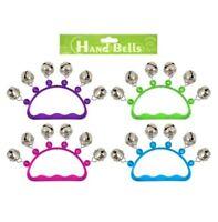 Hand Bells Jingle Instrument Musical Kids Children Toys Henbrandt Toys