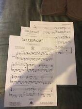 Gainsbourg Couleur café partition piano feuillets crock music Bourgès Rouhaut