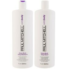 Paul Mitchell Extra Body Daily Shampoo and Daily Rinse Conditioner 33.8 oz / 1L