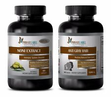 Immune system cleaner - ANTI GRAY HAIR – NONI COMBO - noni enzyme